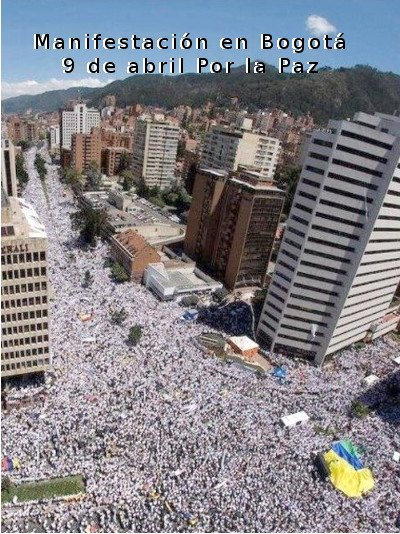 More than One Million Colombians March in Support of the Peace Process—Alliance for Global Justice Eye-Witness Report